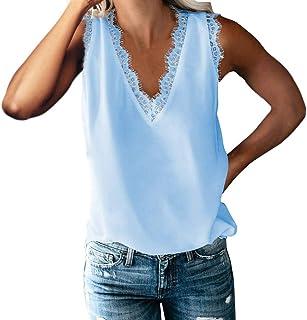 Amazon.es: VEMOW - Blusas y camisas / Camisetas, tops y ...