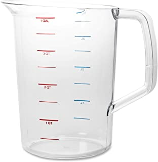 Best Rubbermaid Commercial Products Bouncer Measuring Cup, 4-Quart, Clear, FG321800CLR Review