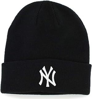 14fc9d47ab4  47 New York Yankees Black Beanie Hat - MLB NY Cuffed Winter Knit Cap ·