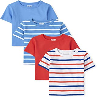 The Children's Place Toddler Boys Striped Top 4-Pack