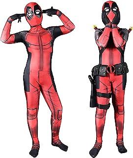 Halloween Superhero Costume Cosplay Kids Bodysuit Zentai Spandex 3D Print for Boys 6T