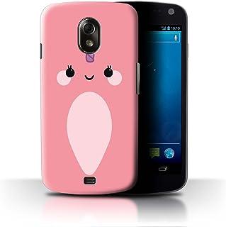 Stuff4® - Funda para teléfono GG-CC/Cute Narwhal Unicorn Kawaii/Pink Samsung Galaxy Nexus 3/I9250