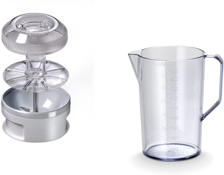 Bamix MX105127 Coffret Bamix Box mixeur plongeant Blanc intégral Blanc Intégral