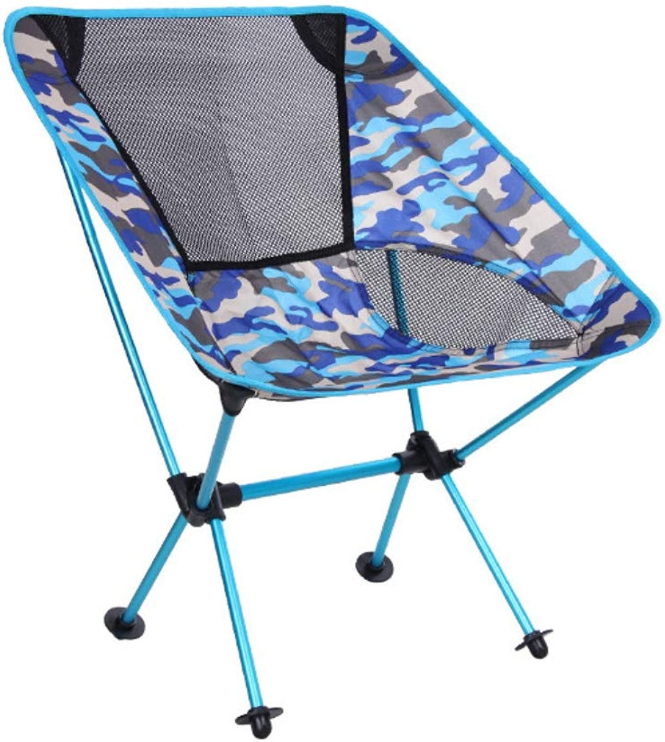 Folding Camping Chair Oxford Cloth Breathable Lightweight Portable for Backpack Hiking Picnic