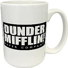 Dunder Mifflin (The Office) World's Best Boss TV Television Show Ceramic Gift Coffee (Tea, Cocoa) 15 Oz Mug, By Culturenik...