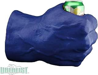 Uberfist Right Hand Hulk Foam Fist Drink Holder, Blue
