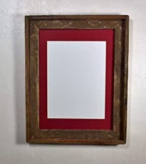 11x14 rustic wood picture frame