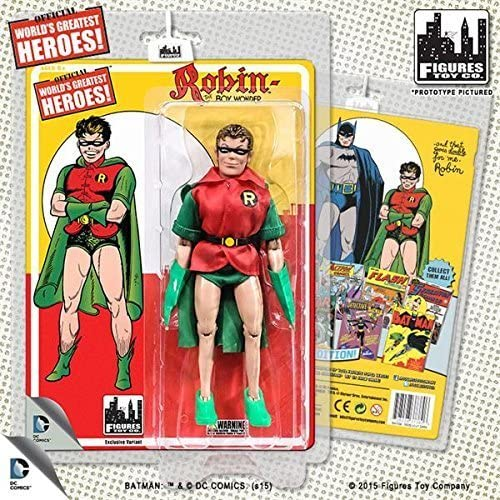 Dc Comics Retro First Appearances Series 1  Robin (Grün Cape Variant) by Figures Toy Company