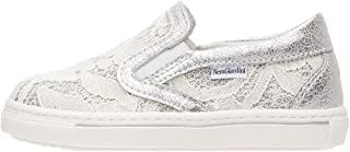 Nero Giardini P722181F Sneakers Kids pour Fille en Cuir Et Toile