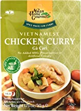 Asian Home Gourmet Vietnamese Chicken Curry Spice Paste, 50 g