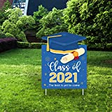 Yangmics Direct Class of 2021 Graduation Yard Sign - Best is Yet to Come - Yard Sign and Outdoor Lawn Decorations
