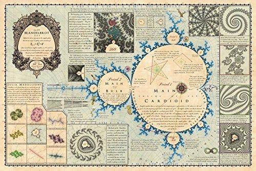 Bill Tavis Mandelmap Fractal Poster (36 x 24 inches)