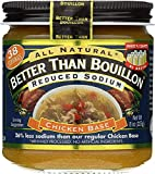 """Better Than Bouillon Reduced Sodium """"Roasted"""" Chicken Base, 8 Oz"""