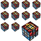 Party City Transformers Puzzle Cubes, 24 Count, Classic Puzzle Party Favors Feature Optimus Prime, Bumblebee, and More