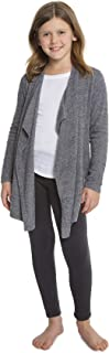 CozyChic Lite Girls Calypso Wrap, Heathered Pacific Blue/Pewter (S 6-7)