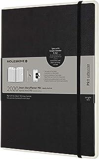 Moleskine 2020 Professional Weekly Vertical Smart Planner, 12M, Extra Large, Black