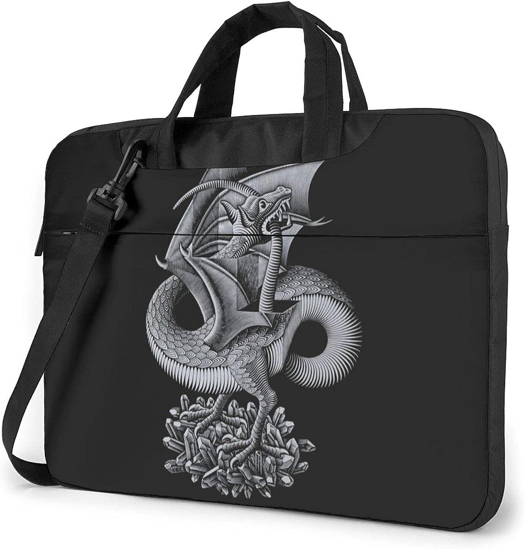 Limited time for free shipping Laptop Sleeve Case Long Beach Mall Computer Bag Mc Dragon Escher Art