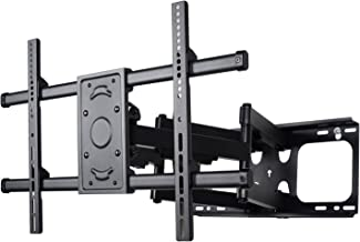 VideoSecu Articulating TV Wall Mount Bracket for Most 37~70 inch Sony Samsung LG Panasonic Vizio Sharp LED LCD Plasma, Full Motion Dual Arm pulls Out up to 25