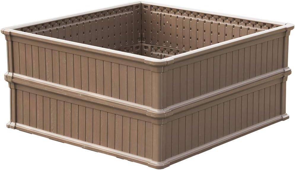 Modern Home Raised Garden Bed Kit half Modular - Flower Pla Stackable wholesale
