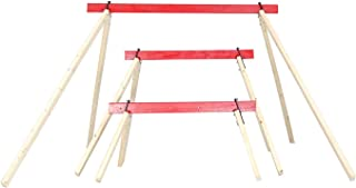 ShootingTargets7 F24 Steel Target Stand - Build Any Size Portable Target Stand - 2x4 Legs Fold for Transport