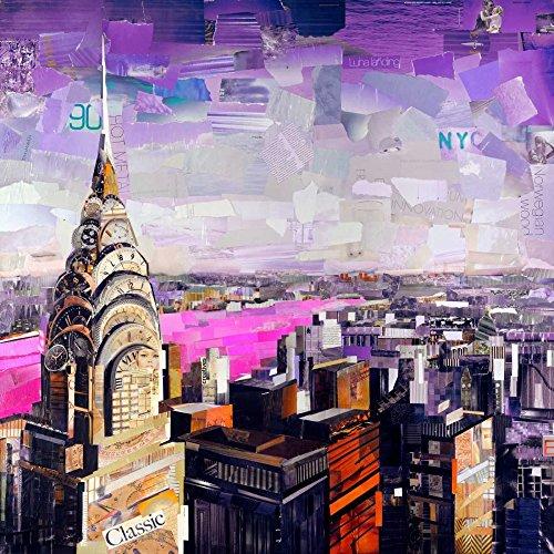 Feeling at Home Kunstdruck-auf-Papier-cm_69_X_69-Grey-James-Landschaft-Bild-Poster-Zeitgenössische-Landschaften-Bundesstaat-New-York-USA-Stadtlandschaften-New-York-City