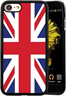 Case for iPhone 7 Plus 8 Plus The Union Jack,ChyFS Phone Case ,PC and TPU Black protective Case