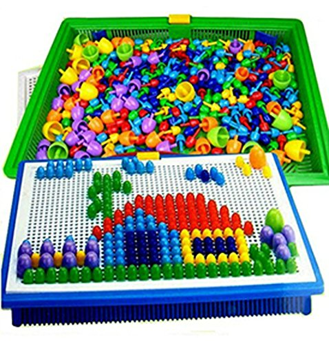 MentorKids Puzzle Board for 36 To 72 Months, 296 piece, Multicolour