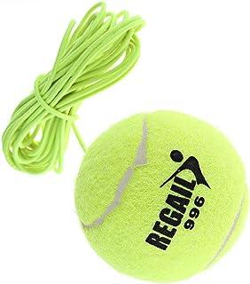 KISSOURBABY Tennis Trainer Rebound Baseboard Tennis Ball Self-Study Practice Tool Equipment Sport Exercise for Beginner