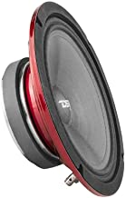 """$49 » DS18 PRO-SM8.2 8"""" Slim Loudspeaker – 8"""", Midrange, Red Steel Basket, 500W Max Power, 250W RMS, 2 Ohms - Premium Quality Audio Speakers – IP66 Water Resistance, Perfect for Motorcycle Applications"""