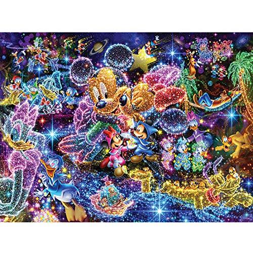 MXJSUA DIY Diamante 5D Pittura Completa Rotonda Kit di Punte Strass Immagine Art Craft per la Decorazione della Parete di casa 30x40 cm Ghepardo Dorato