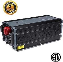 soyond 3000W Inverter Charger Dc 12v to Ac 120v Pure Sine Wave Power Inverter 9000W Surge Power
