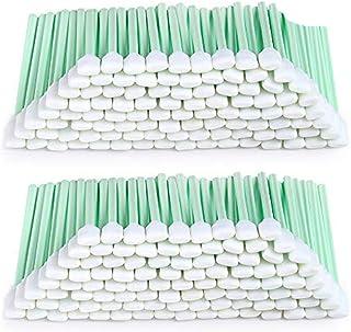 Lot de 200 bâtonnets de nettoyage carrés rectangulaires en mousse pour imprimante à jet d'encre et équipement optique Rola...