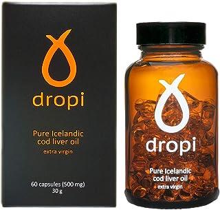 Dropi Cod Liver Oil 2000mg - Omega 3 - Extra Virgin - 60 Capsules