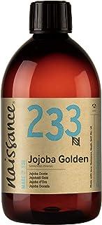 Naissance Huile de Jojoba Dorée (n° 233) - 500ml - 100% pure, naturelle et pressée à froid - pour le soin de la peau, du c...