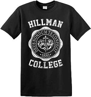 Hillman College - Unisex Cotton Tee Shirt T-Shirt