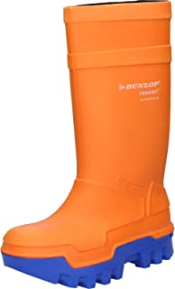 Dunlop Protective Footwear Dunlop Purofort Thermo+ C662343, Bottes & bottines de sécurité Mixte adulte, Orange (Orange), 3...