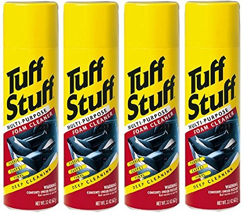 Tuff Stuff Multi Purpose Foam Cleaner for Deep Cleaning, 4 Pack (Foam Cleaner)