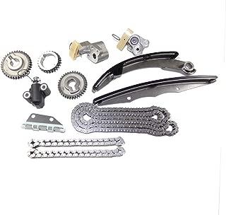 DNJ TK648 Timing Chain Kit/For 2005-2016/ Nissan, Suzuki/Equator, Frontier, NV1500, NV2500, NV3500, Pathfinder, Xterra/ 4.0L/ DOHC/ V6/ 24V/ 3954cc/ VQ40DE