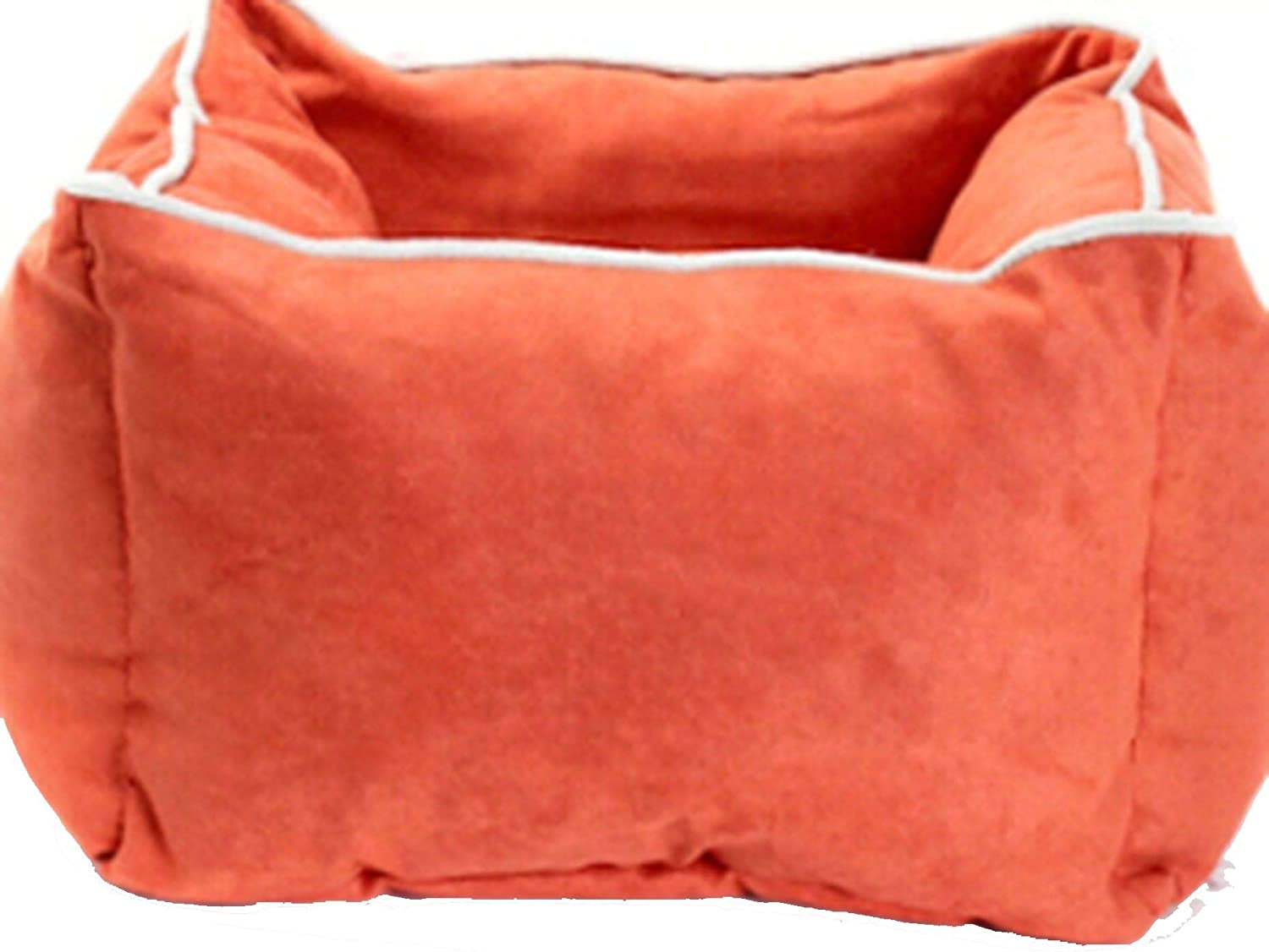 Pet Products Supplies Cat Cushion Bed House Bed for Cat Sleeping Bag Deep Bed Kennel Sofa Warm Soft Cozy,orange