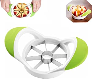 Liberty, stainless steel apple diced, small 8-cut apple slicer, corer, separator