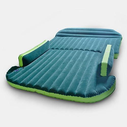GYP SUV voiture gonflable lit, réserve extérieure voiture voiture gonflable Pad gonflable voyage matelas modèles SUV être applicable 180  130 cm vert flocage