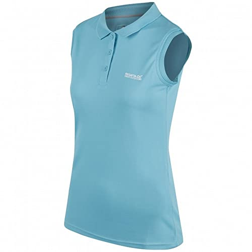 dddee2cf2c6cc5 Regatta Womens Ladies Tima Wicking Quick Dry Active Polo Vest Shirt