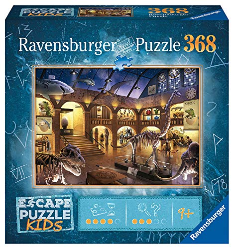 Ravensburger 12935 Escape Room Museum Rompecabezas de 368 Piezas para niños a Partir de 9 años
