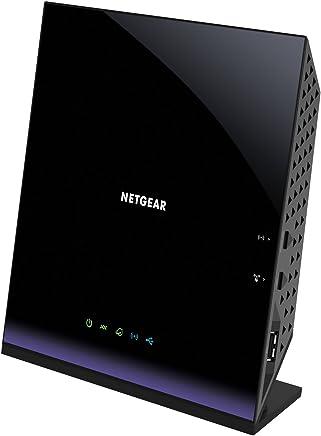 NETGEAR Dual-Band Gigabit AC1600 ADSL/VDSL WiFi Modem Router (D6400-100AUS)