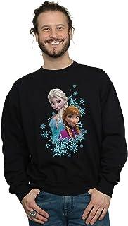 Disney Men's Frozen Elsa and Anna Sisters Sweatshirt
