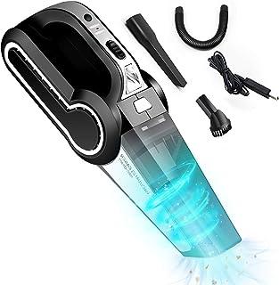 TXG Aspirador de Mano Sin Cable,120W Aspirador Portátil de Mojado y Seca, con Filtro de Acero Inoxidable,poco Ruido, Para ...