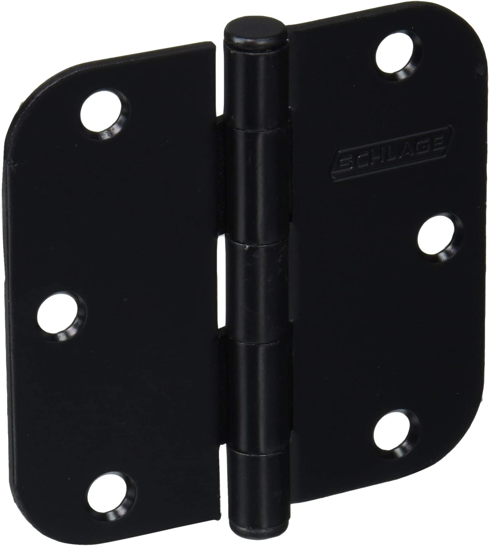 Schlage Lock Company SC3P1011F622E Plain Bearing Hinge, Matte Black, 3 Count