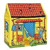Micki & Friends 44377300 Pippi Langstrumpf Zelt - Kinderhaus Spielzelt Villa Kunterbunt - L/B/H:...