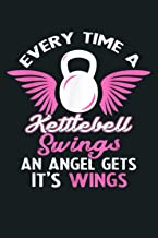 Every Time A Kettlebell Swings An Angel Gets It S Wings: Notebook Planner - 6x9 inch Daily Planner Journal, To Do List Not...