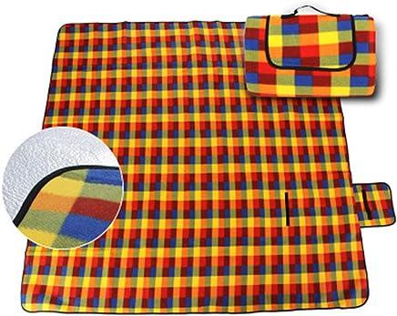 Pessica Outdoor Wasserdichte, eingezäunliche Samtpicknick Matte Wear-resistente Oxford Tuch Picknick-Matte Feuchtigkeit Besteändige, sichere ungiftige Picknick-Matte,L,200CM150CM B07Q7WJD73 | Qualitätskönigin